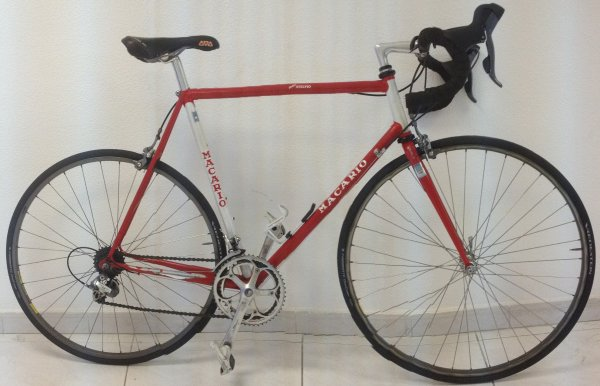 Bicicleta Macario Stelvio